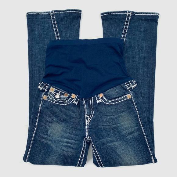 True Religion Denim - Pea in Pod True Religion Maternity Flare Jeans 28